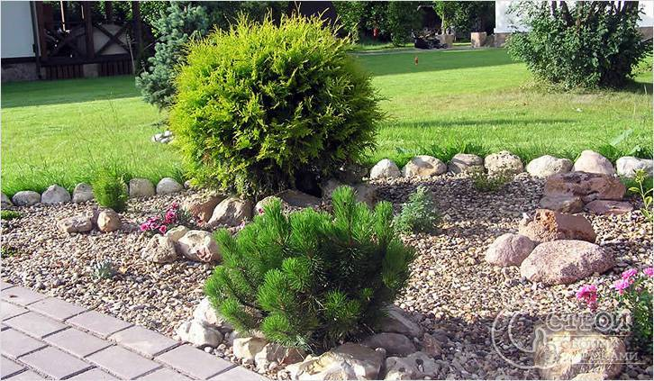 Садовый декор на дачном участке своими руками - фото примеров