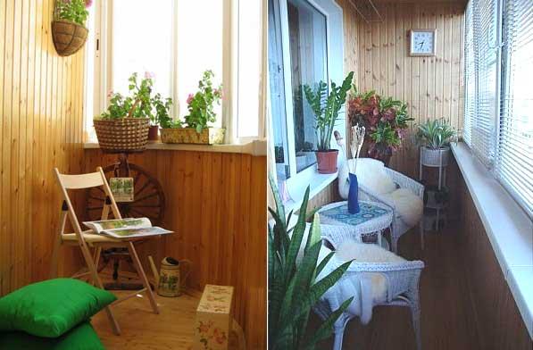 Оформление балкона изнутри: 90 фото самых красивых и уютных балконов