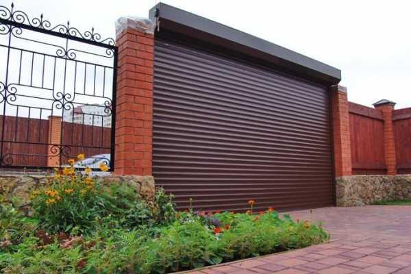 Ворота-рольставни для гаража — плюсы и минусы