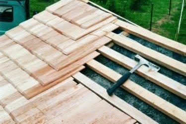 Дранка, гонт и шиндель для кровли и фасада: изготовление и фото | строительство. деревянные и др. материалы