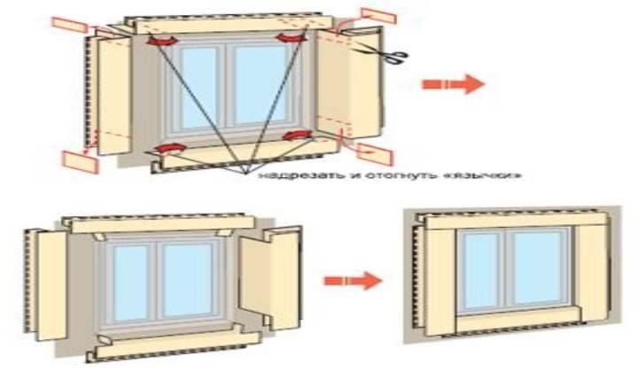 Как крепить околооконную планку сайдинга - монтаж оконной планки сайдинга