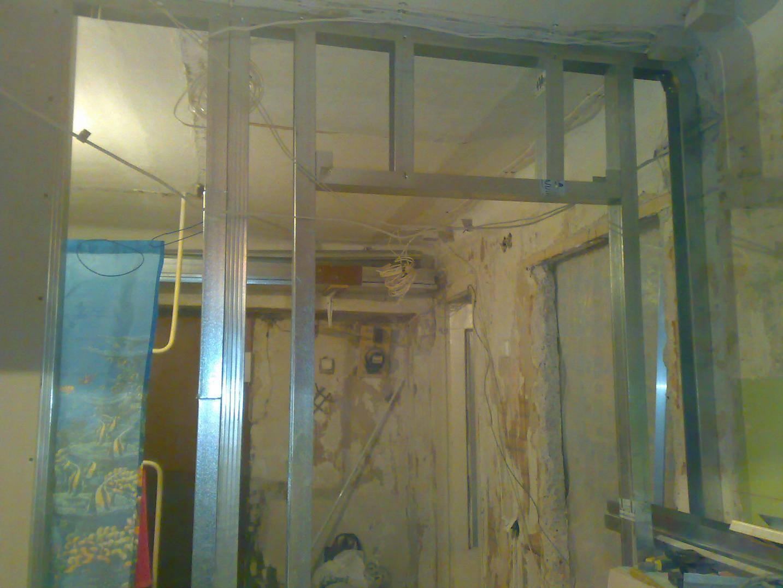 Перегородка из гипсокартона с дверью, организация дверного проема в гипсокартонной стенке своими руками: инструкция, фото и видео-уроки, цена