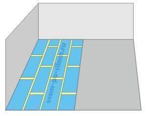 Укладка подложки под ламинат: инструкция как правильно укладывать подложку под ламинат
