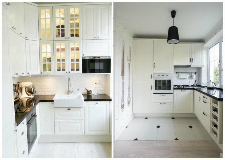Полет фантазии и практичность в одном флаконе – светлая кухня в современном стиле