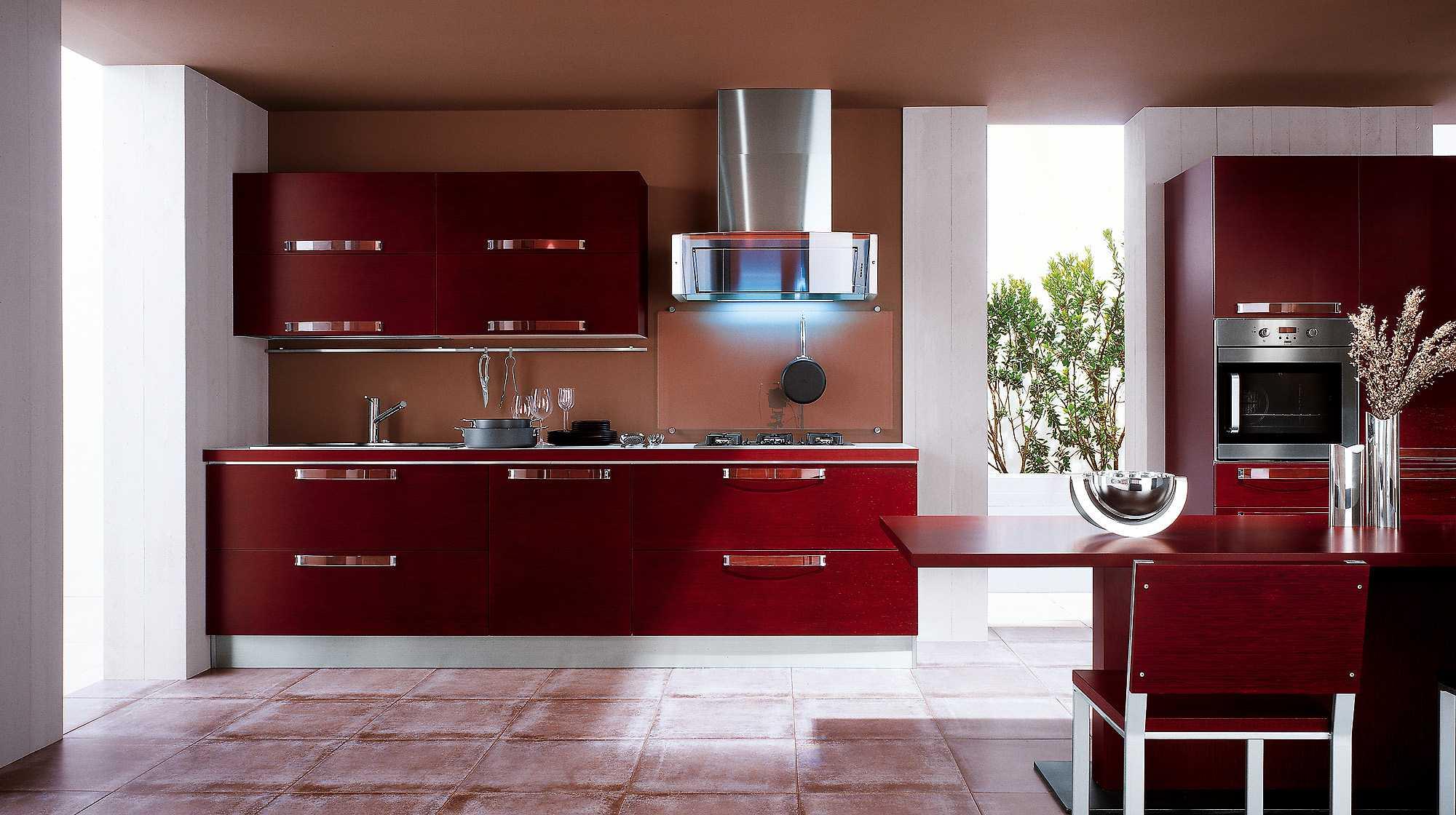 9 принципов сочетания цветов в интерьере кухни