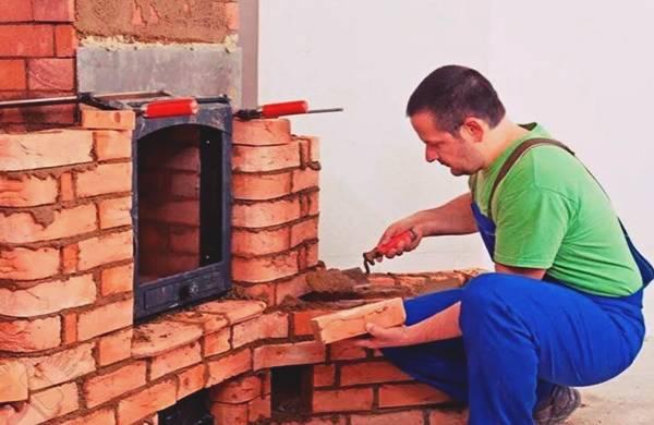 Как отделать камин: штукатурка, облицовка плиткой, камнем