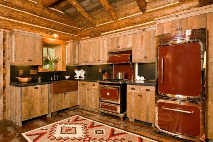 Кухня в деревенском доме: дизайн интерьера и обустройство