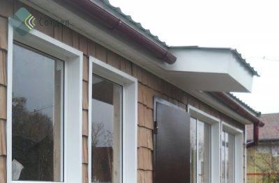 Отделка сайдингом окна: с откосами и без, материал. инструкция от специалиста