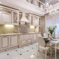 Кухня в классическом стиле - 98 фото примеров