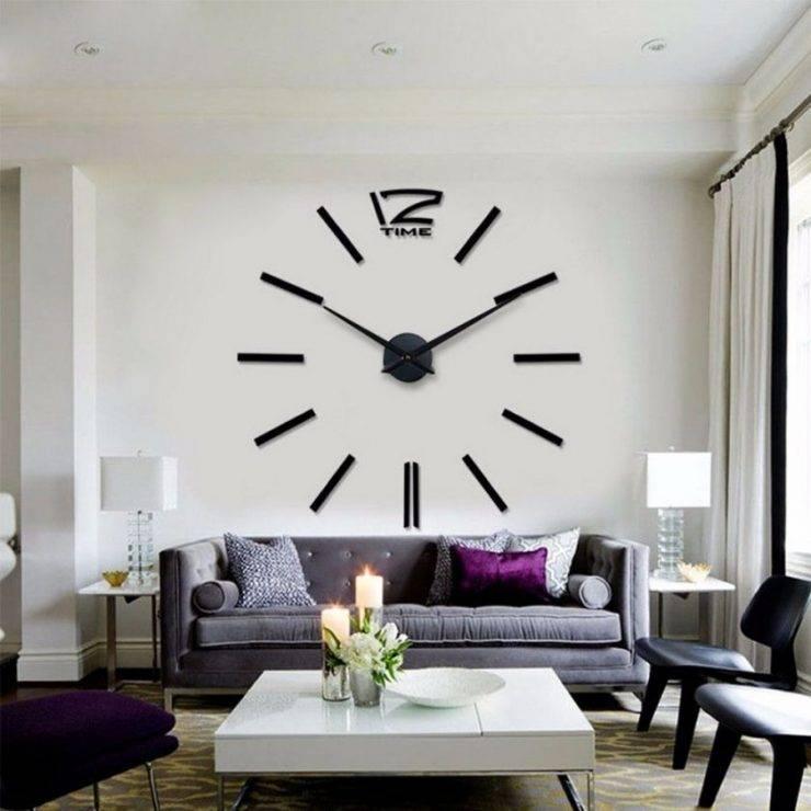 Часы в интерьере - 70 фото идей и новинок дизайна