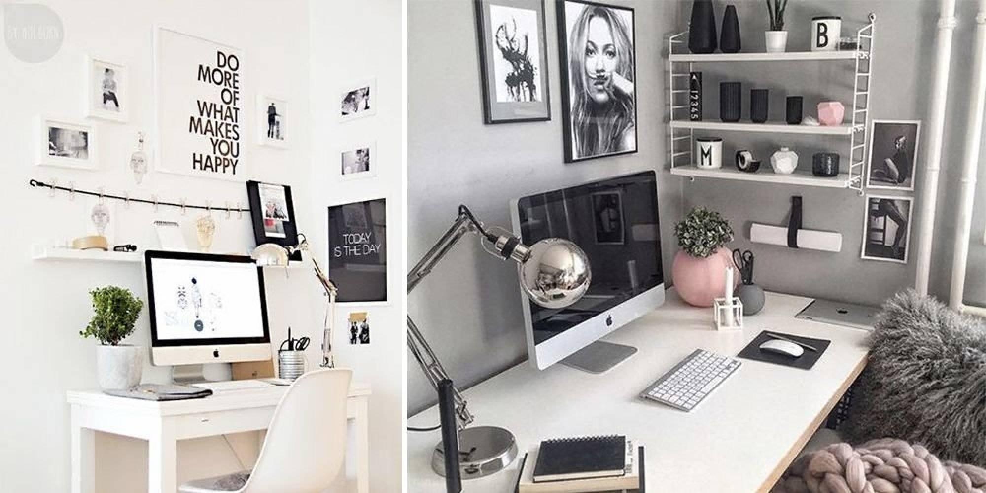 Рабочее место в квартире: 13 идей и 30 фото   дом мечты