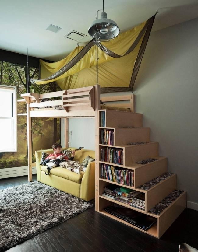Кровать-чердак своими руками: где найти схемы, чертежи и инструкции, стоит ли изготавливать из дерева, как сделать самому каркас и установить детское ложе