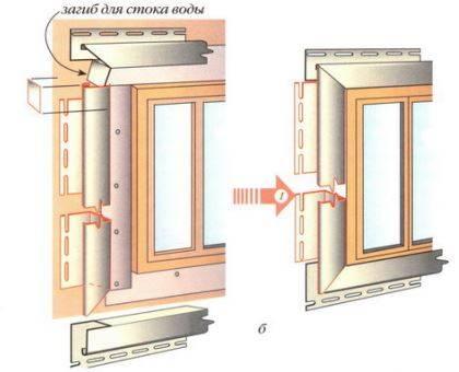 Как обшить окно сайдингом
