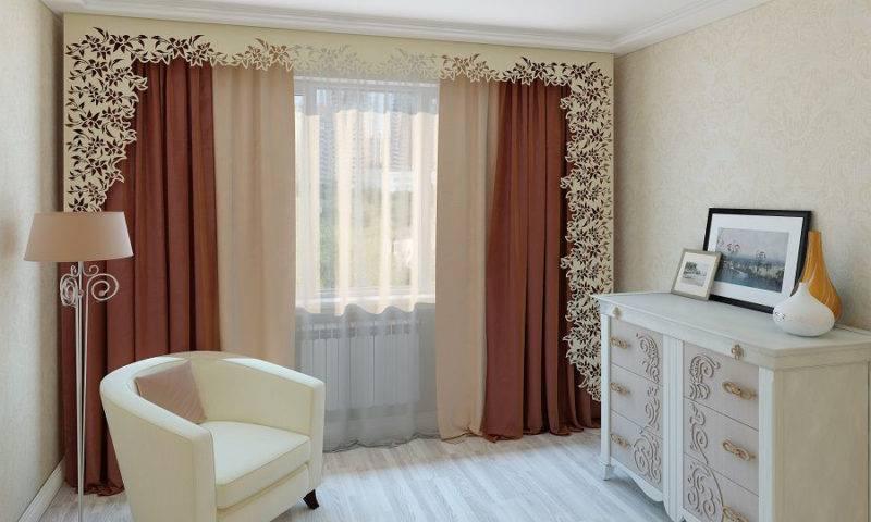 Короткие шторы в спальню (67 фото): варианты дизайна занавесок до подоконника, современный укороченный красивый тюль на маленькие и другие окна