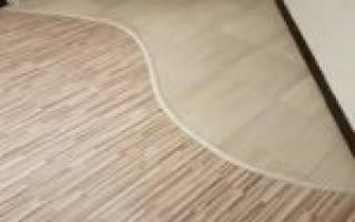 Плитка и ламинат на кухне переход: как сделать комбинированный пол