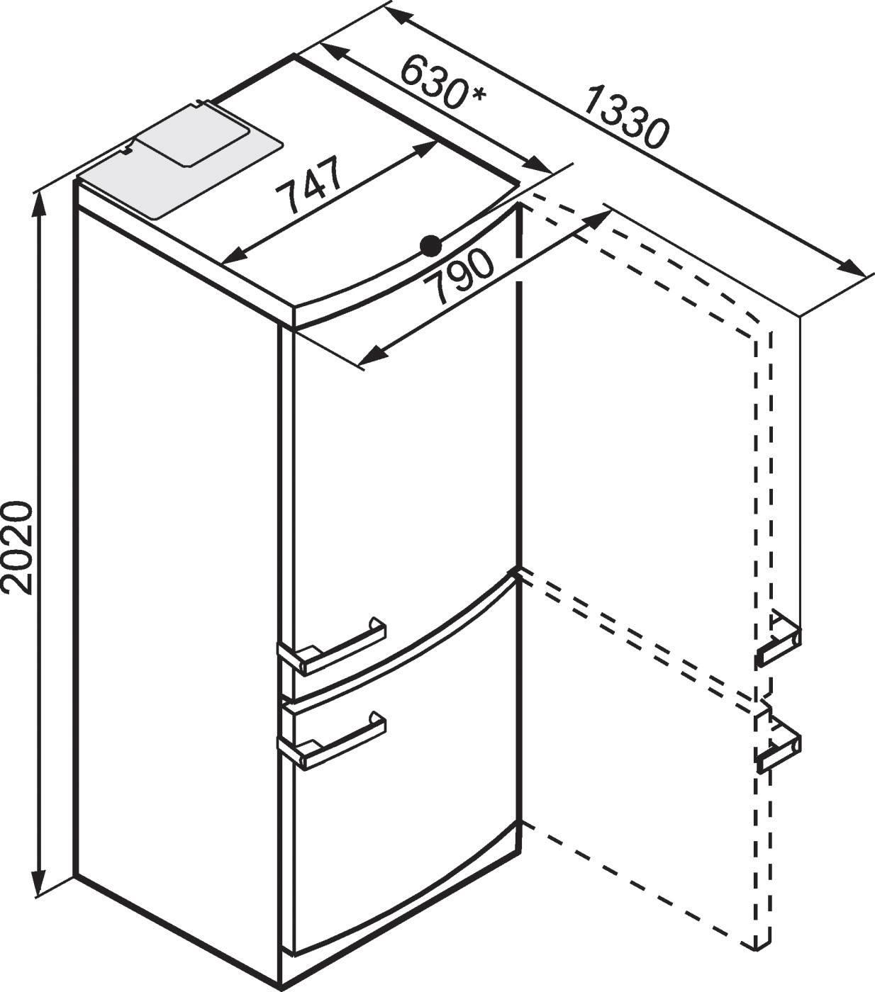 Кухонный гарнитур: размеры стандартные, высота, глубина, ширина мебели