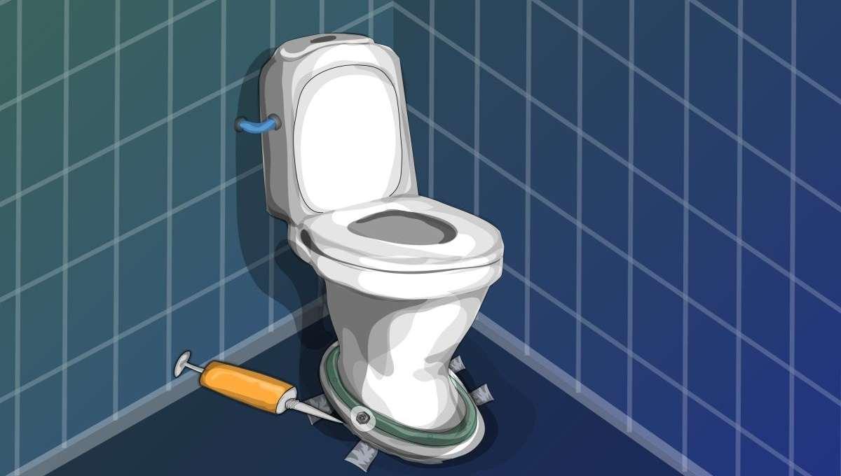 Как закрепить унитаз чтобы не шатался - все о канализации
