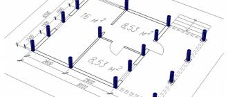Калькулятор буронабивных свайных и столбчатых фундаментов