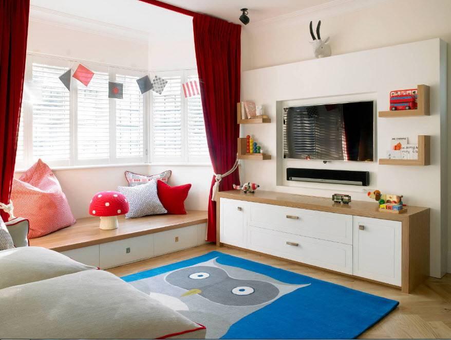 Зонирование комнаты для родителей и ребенка: 65 идей