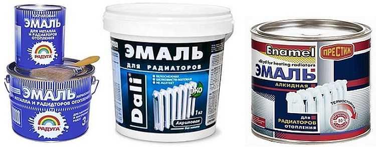 Краска для радиаторов отопления: выбор, порядок действий, типы красок и технология использования