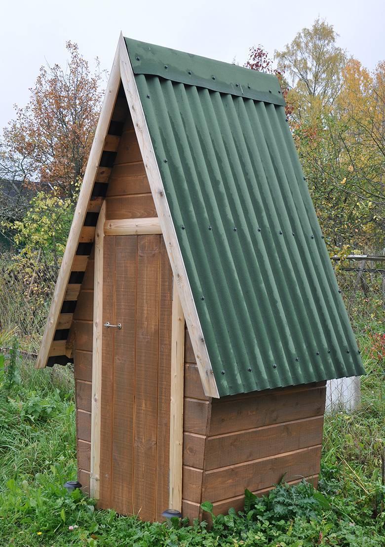 Дачный туалет своими руками: выбор дизайна, пошаговая инструкция по постройке и выбор места расположения (95 фото)
