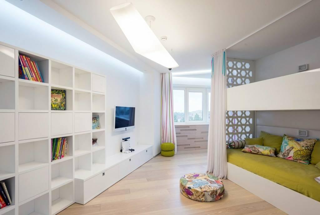 Однокомнатная квартира для семьи с двумя детьми - уютный дом