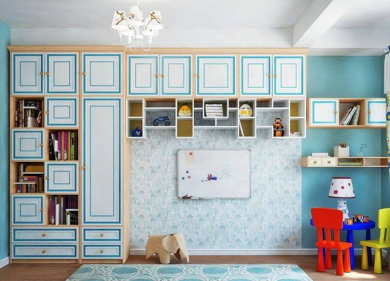 Дизайн детской для разнополых детей (90 фото) - интерьер комнаты для мальчика и девочки
