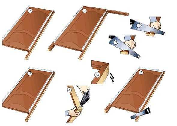 Можно ли своими руками установить дверную коробку из мдф и как это сделать?