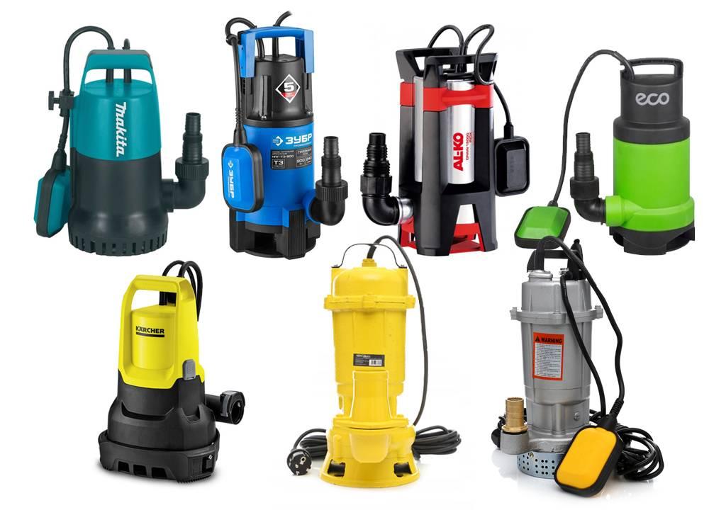 Как выбрать дренажный насос для канализации частного дома?