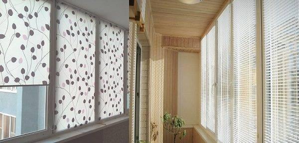Рулонные шторы на балкон - как выбрать ткань, дизайн и как установить