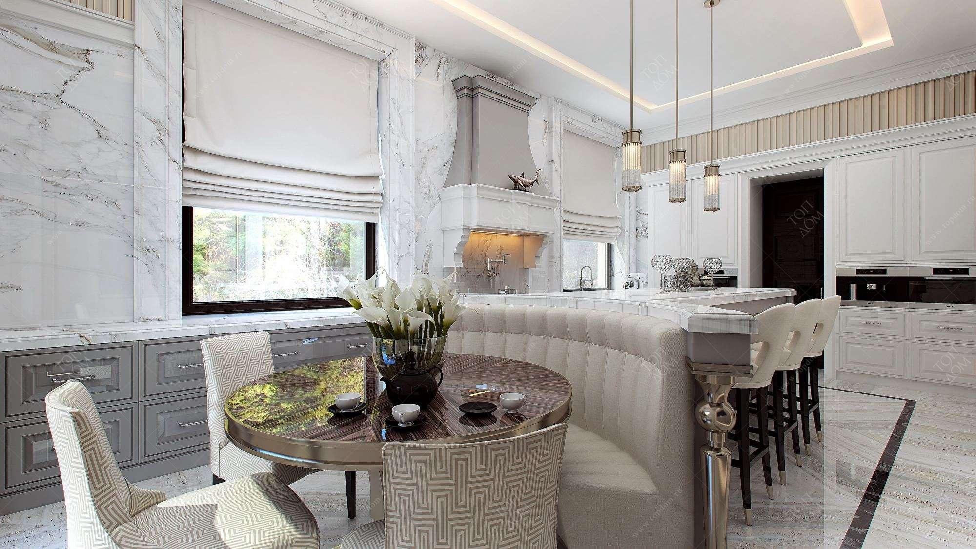 Понятие об основных принципах построения интерьера жилого дома, на что обращать внимание при оформлении, выбор стиля интерьера - 12 фото
