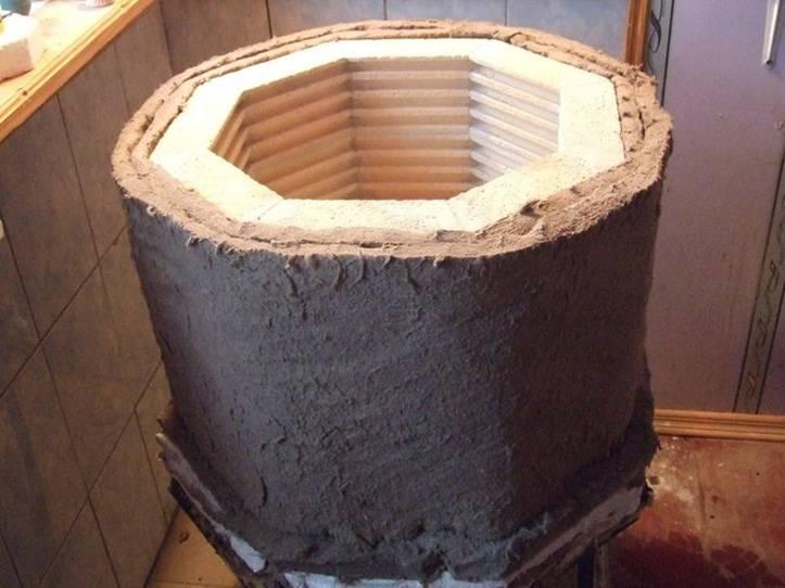 Муфельная печь для плавки металла своими руками: инструкция по изготовлению