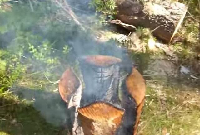 Стол из брёвен (сруба) для дачи своими руками: чертёж, пошаговая инструкция