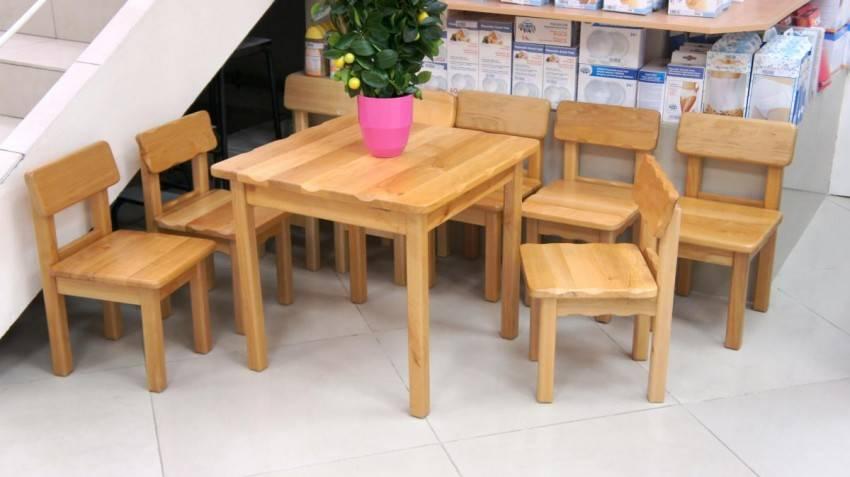 Проявите любовь, сделав детский столик своими руками из дерева или фанеры