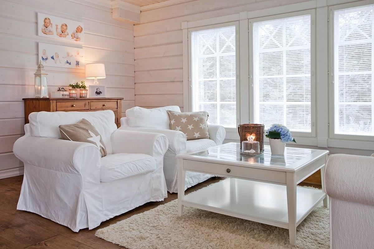 Красим дом внутри – отделка деревянных стен внутри дома