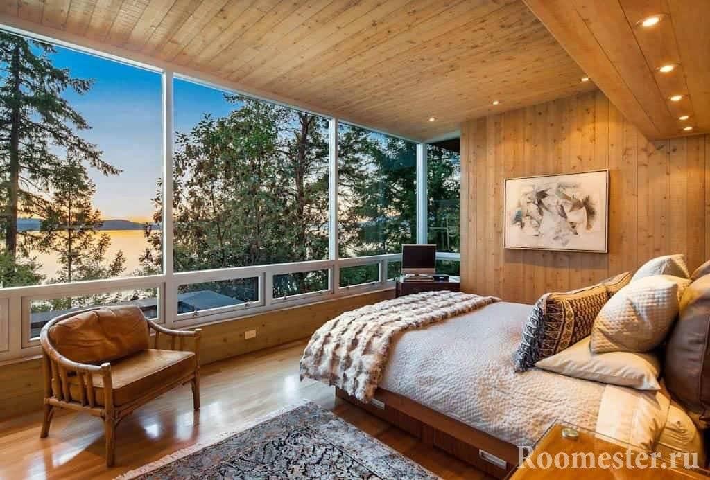 Интерьер дома из бревна: 80+ фото, реальные примеры дизайна