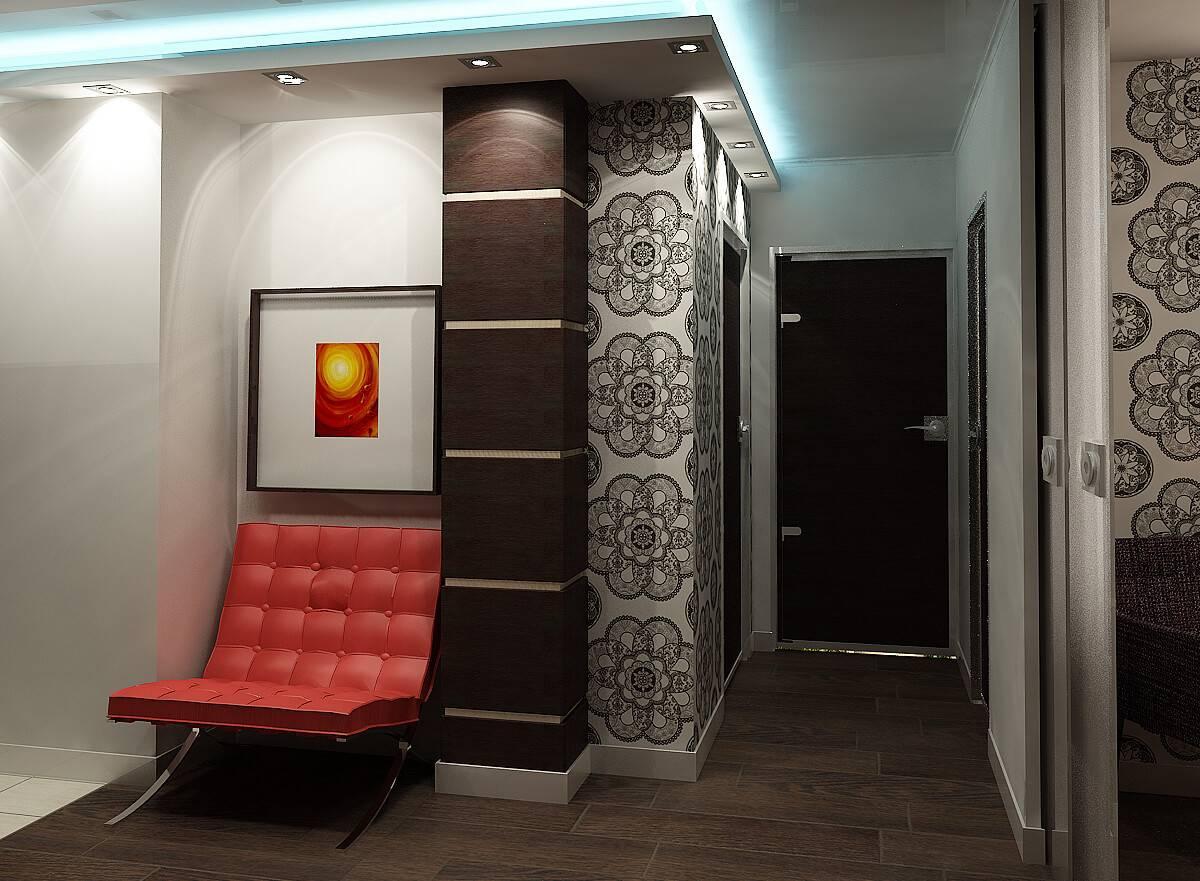 Маленькая прихожая в хрущевке — фото дизайна узкого коридора