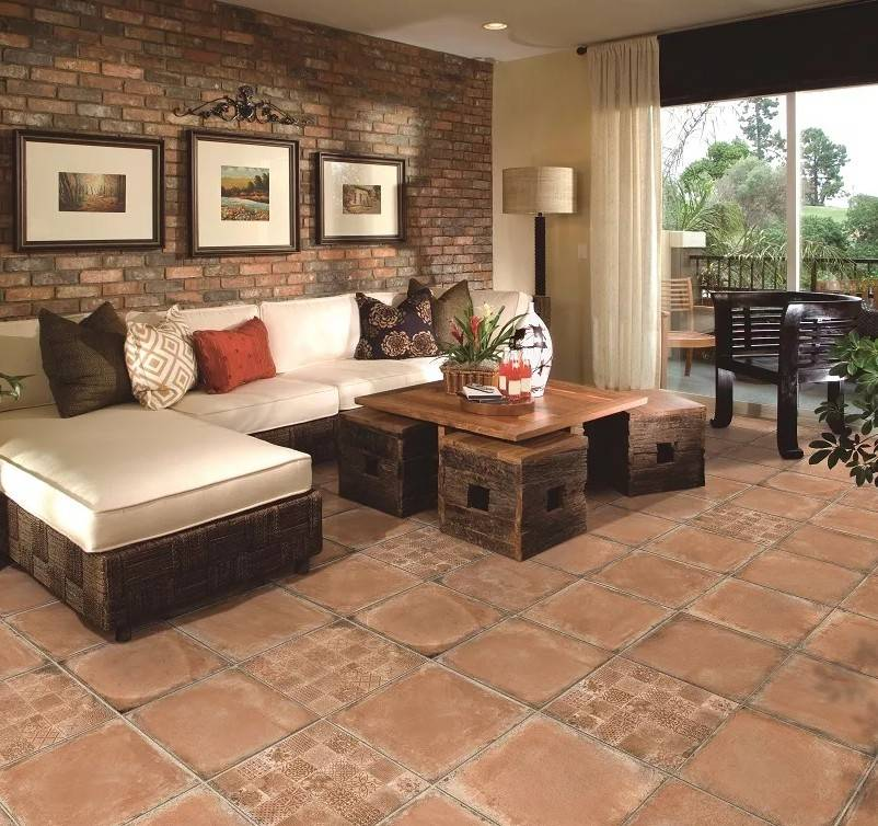 Цементная плитка для пола: особенности напольного покрытия