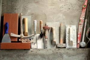 Кельма для декоративной штукатурки: что это, виды и техника работы