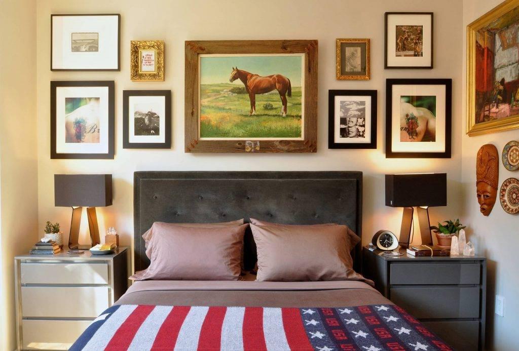 Картины над кроватью: 170+ (фото) как повесить? какую выбрать?