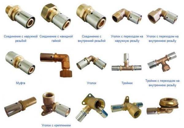 Газовые фитинги: особенности материалов для соединения газовых труб