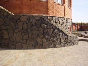 Инструкция по облицовке цоколя натуральным камнем - блог о строительстве