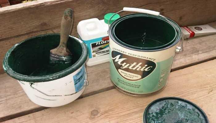 Чем развести водоэмульсионную краску и как правильно разбавить водой