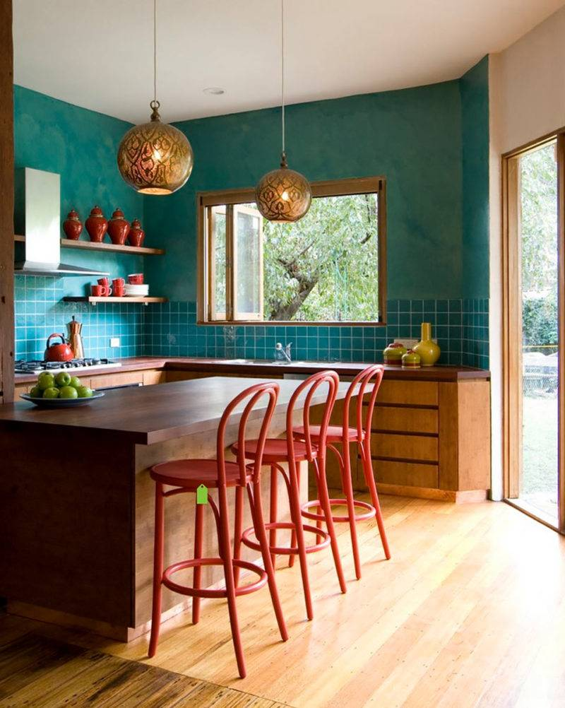 Кухня в стиле эклектика - 75 фото идей нестандартного дизайна