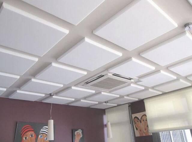 Как покрасить потолочную плитку из пенопласта - всё о ремонте потолка