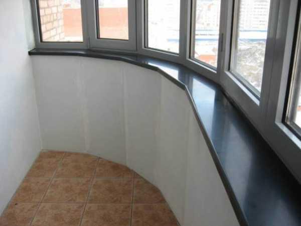 Как сделать и установить подоконник на балконе?