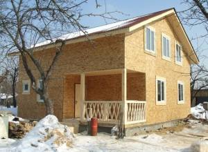 Отделка каркасного дома, отделка фасада и внутренняя отделка каркасного дома
