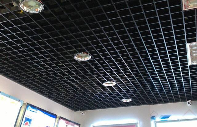 Подвесной потолок грильято: фото, схема сборки и технология монтажа своими руками (видео) » интер-ер.ру