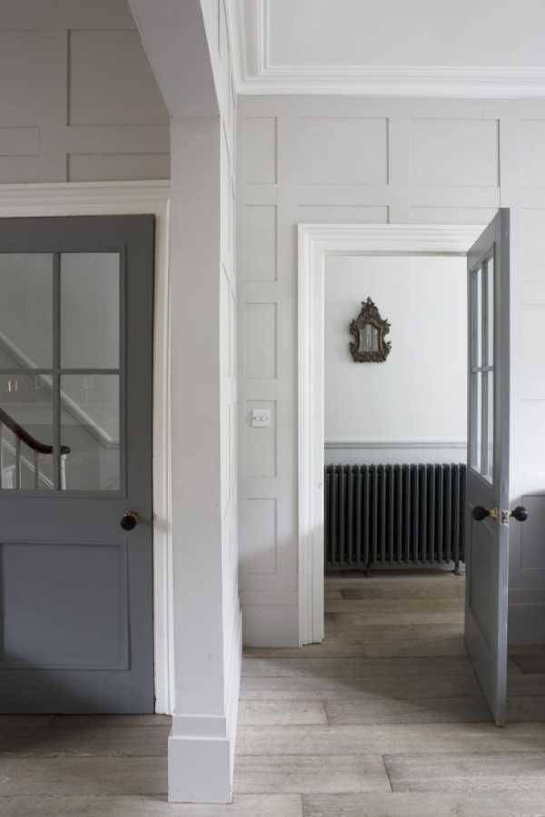 Серые межкомнатные двери: фото вариантов использования