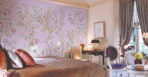 Комбинирование разных обоев в интерьере: особенности оклейки стен и фото обоев в домашних интерьерах